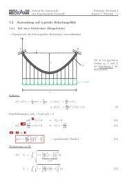 TM1 Seilstatik - Institut für Angewandte und Experimentelle Mechanik