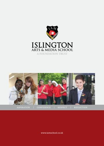 PDF version of our prospectus - Islington Arts and Media School