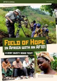 in Africa with an AF101