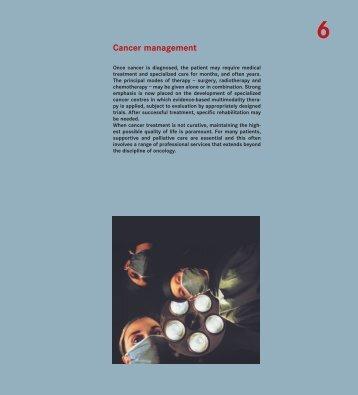 Cancer management - iarc