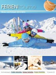 Ferienmagazin der St.Galler, Gossauer und Herisauer Nachrichten