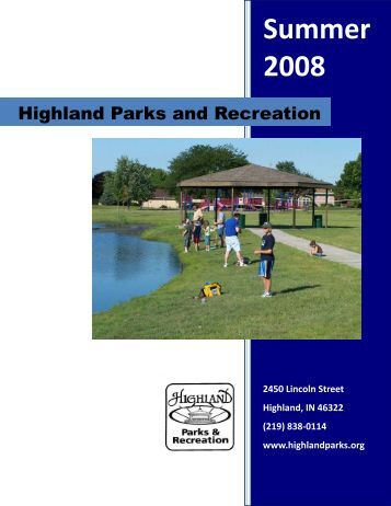 Summer 2008 - Town of Highland, Indiana