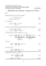 Lösung Aufg. 13 - Technische Universität Dresden
