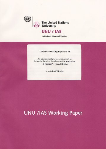 Download paper as PDF - UNU-IAS