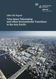 Untitled - UNU-IAS - United Nations University