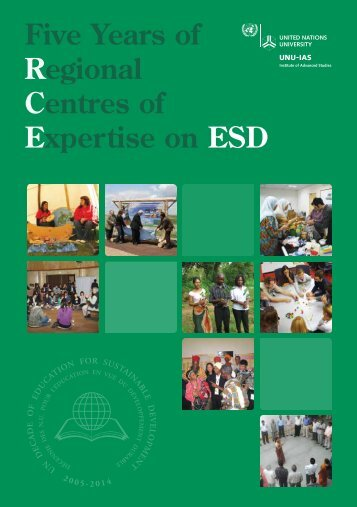 Five Years of Regional Centres of Expertise on ESD - UNU-IAS ...