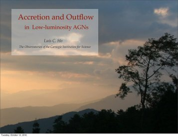 Accretion and Outflow - inaf iasf bologna