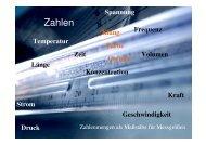 Folien zur Vorlesung am 19.10.2005 - IAPC - Uni Bremen