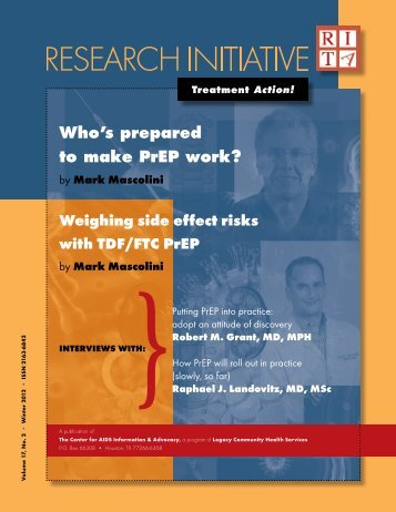 Who's prepared to make PrEP work? Weighing ... - Center For Aids