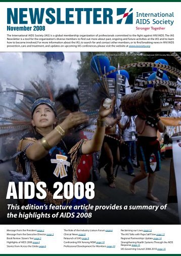 November 2010 - International AIDS Society