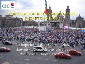 Presentación CIE - Iasis - Gobierno del Distrito Federal