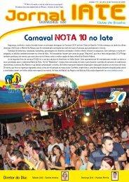 Carnaval nota 10 no Iate - Iate Clube de Brasília