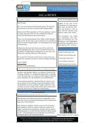 eNEWS November 2011 - International Association of Ultra Runners