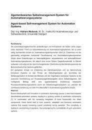Paper - Institut für Automatisierungs- und Softwaretechnik ...