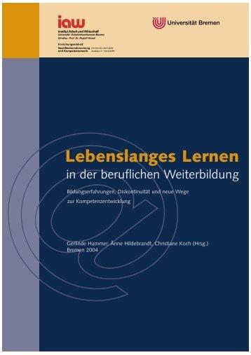 als pdf - am Institut Arbeit und Wirtschaft - Universität Bremen