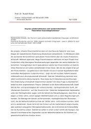 Prof. Dr. Rudolf Hickel - am Institut Arbeit und Wirtschaft - Universität ...
