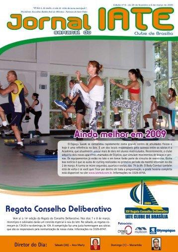 Ainda melhor em 2009 - Iate Clube de Brasília