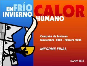 INFORME FINAL - Iasis - Gobierno del Distrito Federal