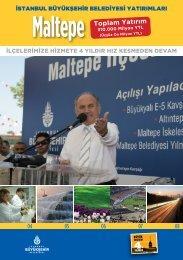 Maltepe Toplam Yatırım - İstanbul Büyükşehir Belediyesi
