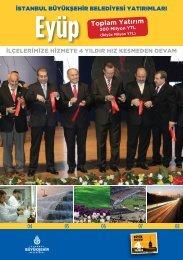 Eyüp Toplam Yatırım - İstanbul Büyükşehir Belediyesi