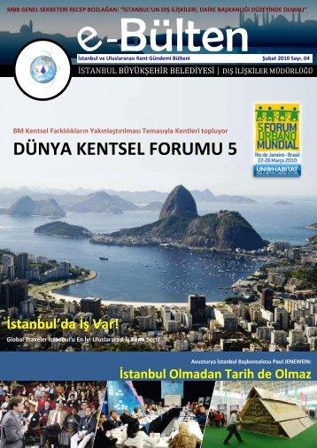 DÜNYA KENTSEL FORUMU 5 - İstanbul Büyükşehir Belediyesi