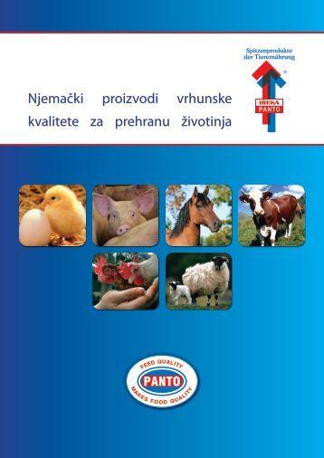 Njemački proizvodi vrhunske kvalitete za prehranu životinja