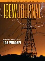 finalissue — seepage 1 6 - International Brotherhood of Electrical ...