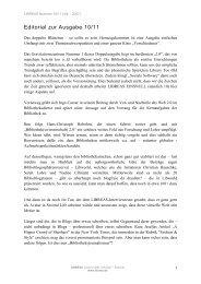 Editorial zur Ausgabe 10/11