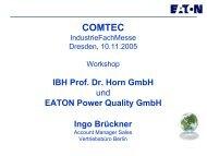 PDF [8,5 MB] - bei der IBH IT-Service GmbH