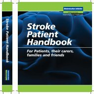 Stroke Handbook.qxd - Guy's and St Thomas'