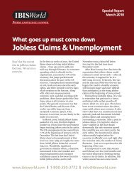 Jobless Claims & Unemployment - IBISWorld