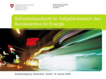 """Expertentagung """"Sicherheit"""", Zürich, 10. Januar 2006"""