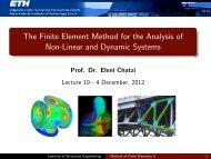 The Finite Element Method for the Analysis of Non-Linear and ...