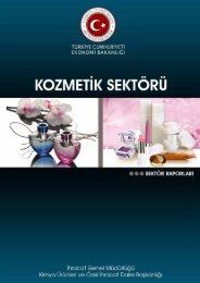 Kozmetik Sektörü