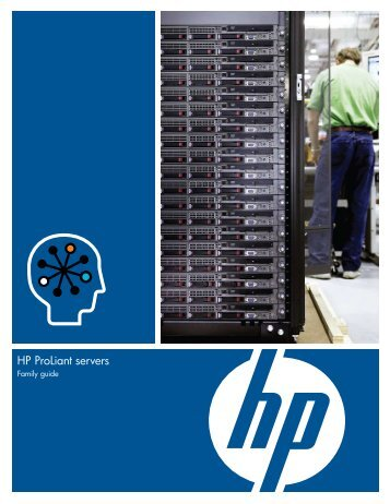HP ProLiant servers - Family Guide - BL Trading