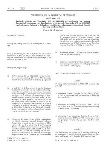 Verordening (EU) nr. 243/2010 van de Commissie van 23 ... - IBR