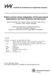 Pattern-driven Green Adaptation of Process-based ... - IAAS