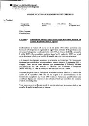 Consultation publique sur l'avant projet-de normes relatives au ... - IBR