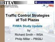 Traffic Control Strategies at Toll Plazas - International Bridge, Tunnel ...