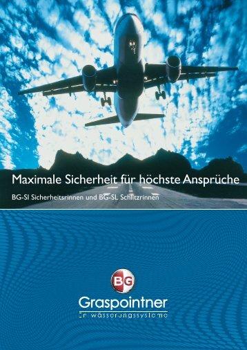 8-Seiter-Sicherheitsrinnen - BG Graspointner GmbH & Co KG