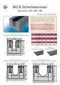 8-Seiter-Sicherheitsrinnen - BG Graspointner GmbH & Co KG - Seite 3