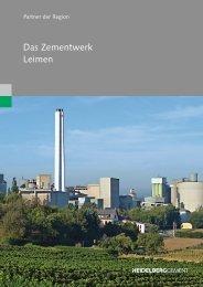 Broschüre zum Werk (PDF; 3.849 KB) - HeidelbergCement