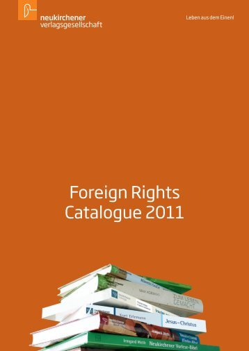 Foreign Rights Catalogue 2011