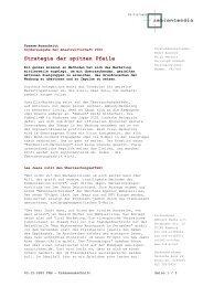 Strategie der spitzen Pfeile - Guerilla-Marketing-Portal