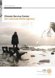 CSC Infobroschüre - Helmholtz-Zentrum Geesthacht
