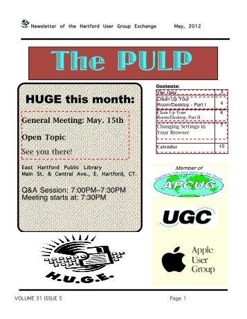 May 2012 1.M - Hartford User Group Exchange