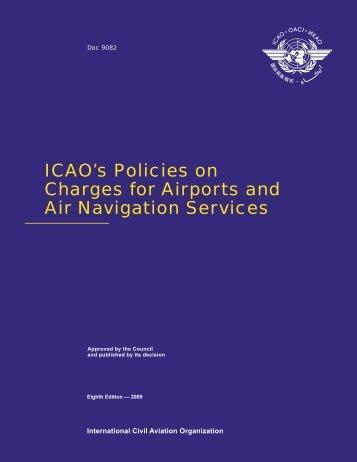 Iata Airport Air Navigation charges manual 2010