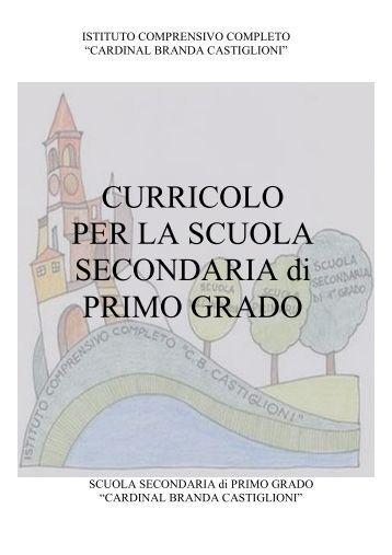 Griglie di valutazione scuola secondaria - Tavola di tracciamento secondo grado ...