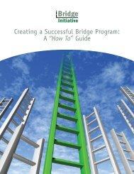 Creating a Successful Bridge Program - Illinois Community College ...