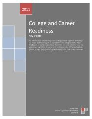 College and Career Readiness - Illinois Community College Board